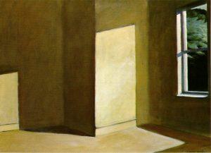 Sun in an Empty Room, 1963