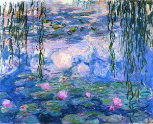 Claude Monet, Water lilies, 1919