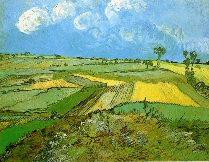 Van Gogh, Wheat Fields