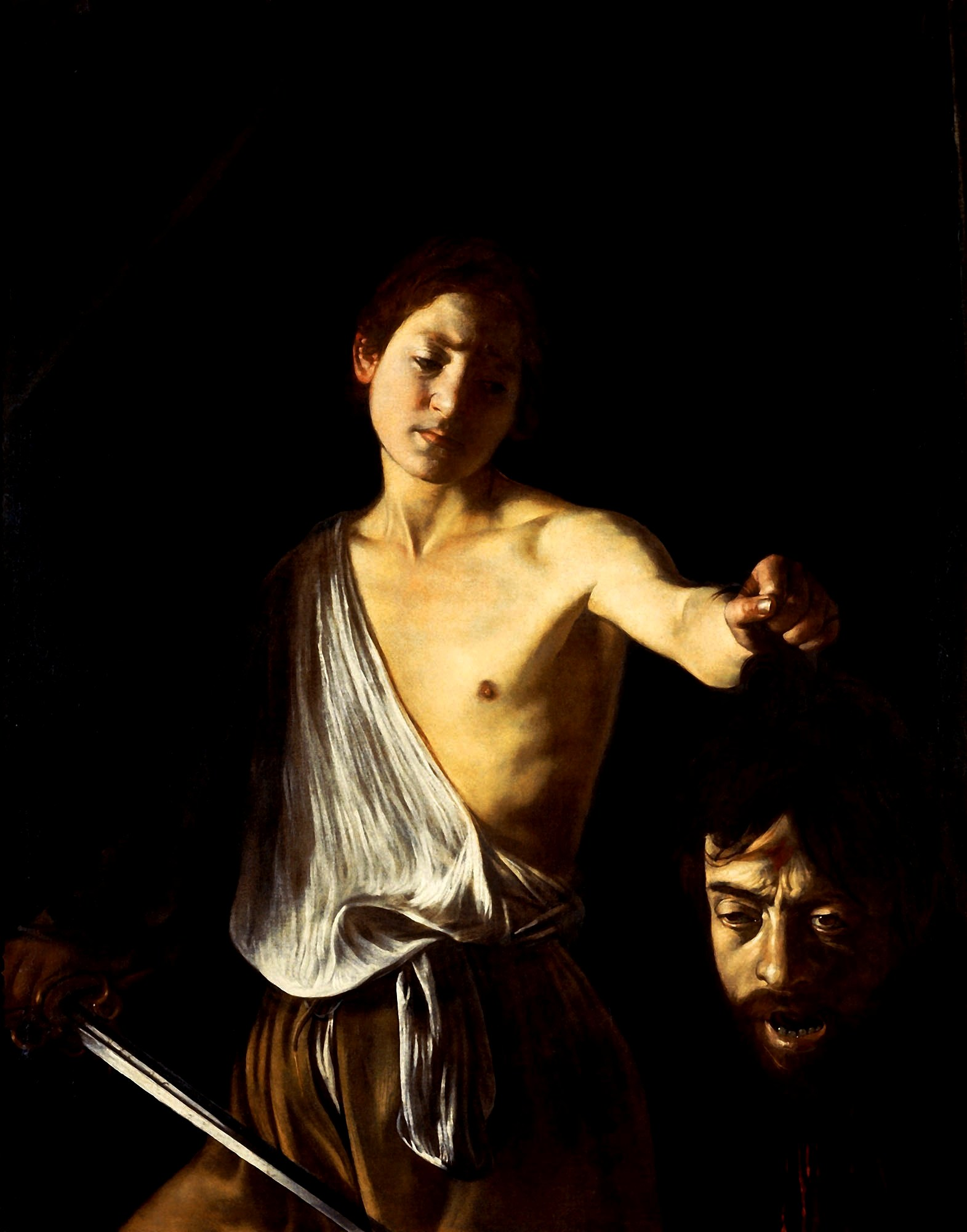 Caravaggio: David with Head of Goliath