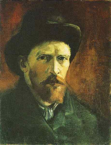 Van_Gogh_Self-Portrait_with_Dark_Felt_Hat_1886