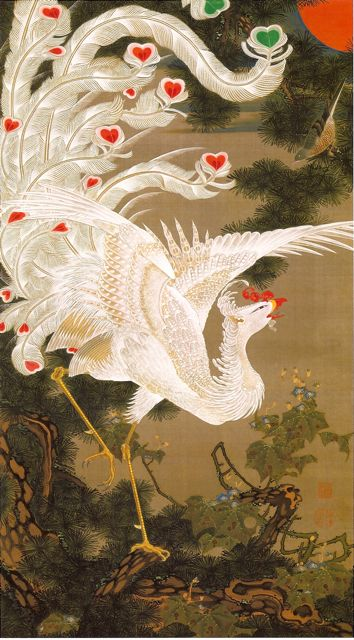 Arts Everyday Living: Ito Jakuchu---The Phoenix Rises