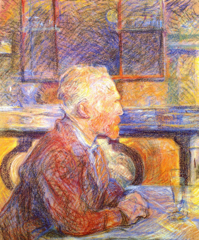 Arts Everyday Living: Toulouse Lautrec, A Portrait of Van Gogh