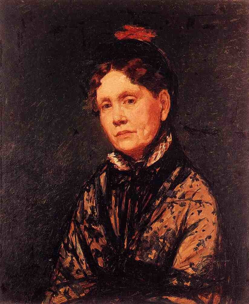 Mary Cassatt, Mrs. R.S. Cassatt, c. 1889, oil on canvas, Fine Arts Museums of San Francisco