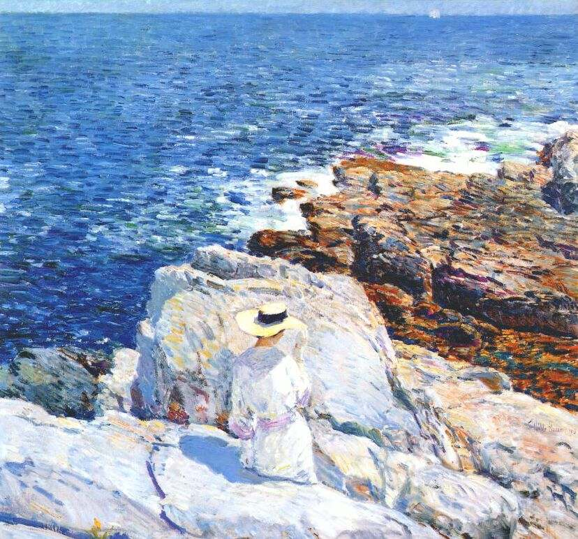 Arts Everday Living: Childe Hassam---A Farewell to a Friend