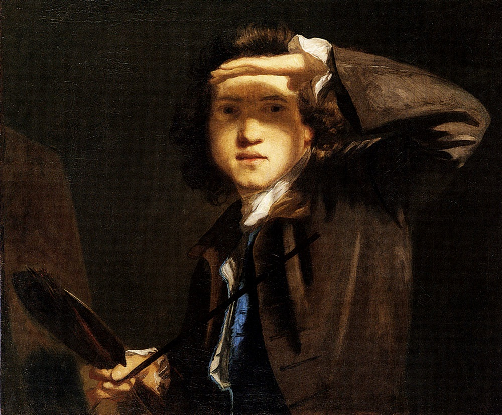 Arts Everyday Living: Joshua Reynolds---Portrait of the Artist as a Young Man