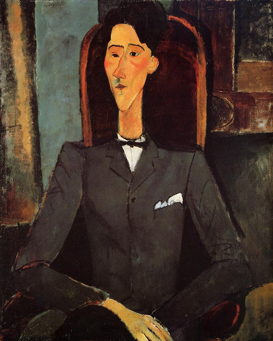 Arts Everyday Living: Modigliani---Portrait of Jean Cocteau