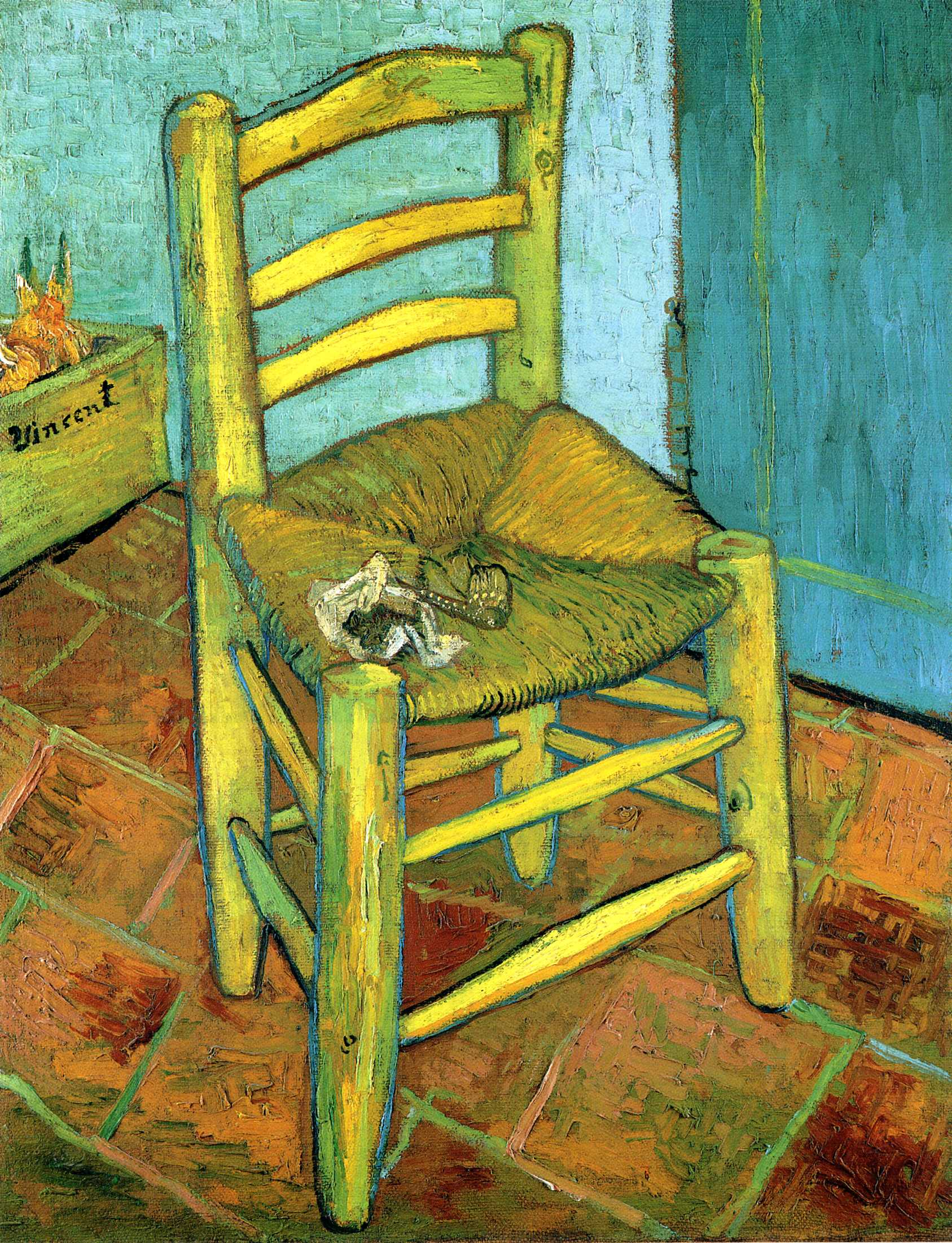 Arts Everyday Living: Vincent Van Gogh---A Double Portrait