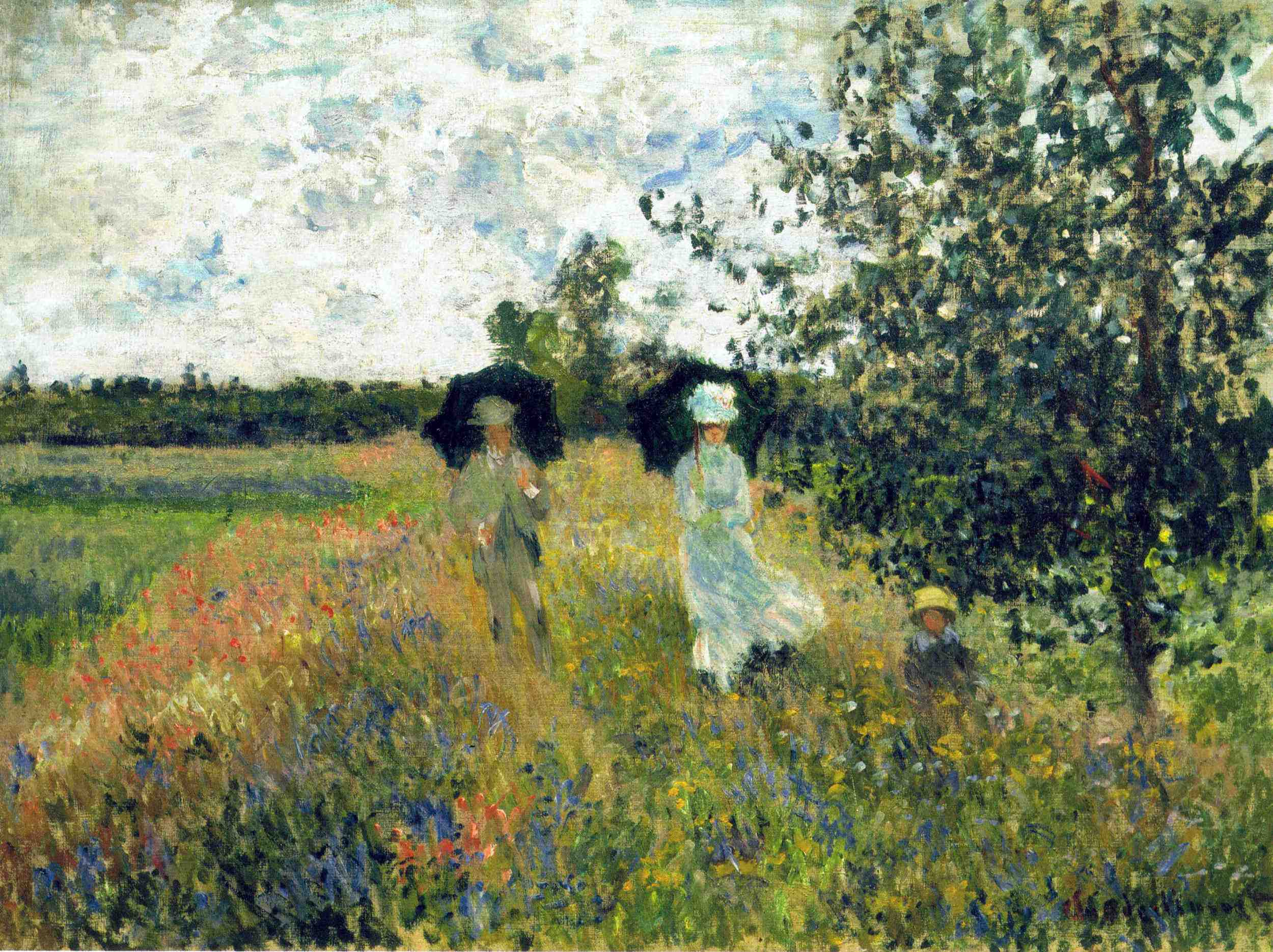 Arts Everyday Living: Musee Marmottan Monet---Some Highlights