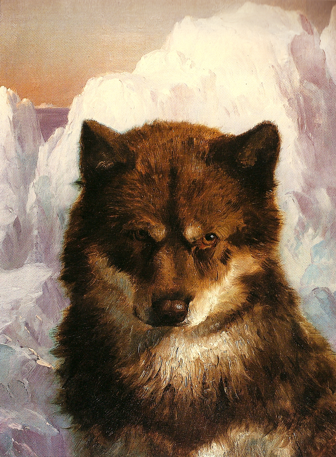 Arts Everyday Living: Frederic Church---A Portrait of Man's Best Friend?