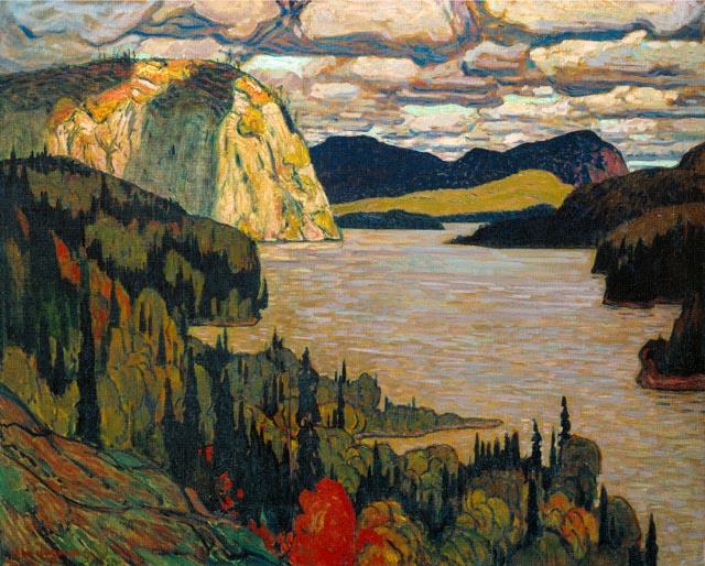 J.E.H. MacDonald, The Solemn Land