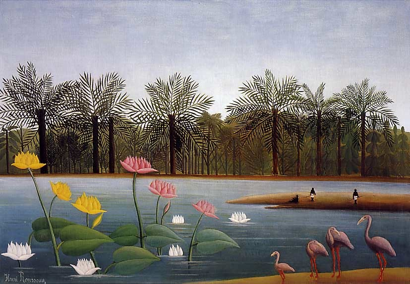 Henri_Rousseau_-_The_Flamingoes
