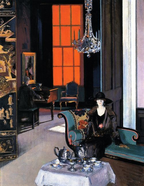 F.C.B. Cadell, Interior, the Orange Blind
