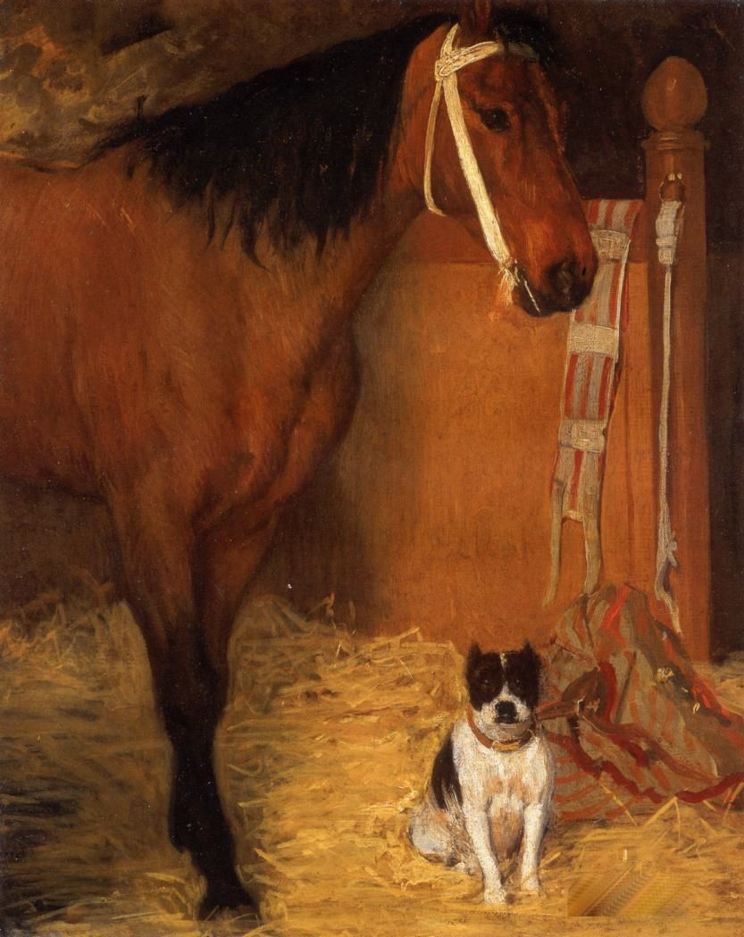 4 at-the-stables-horse-and-dog