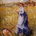 girl-gathering-flowers