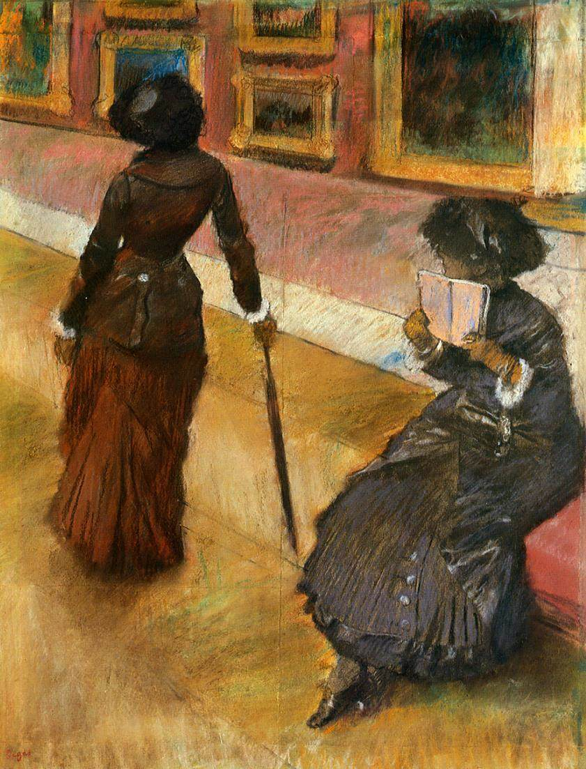 Arts Everyday Living: Meet Degas & Cassatt At the Art Museum Tomorrow!