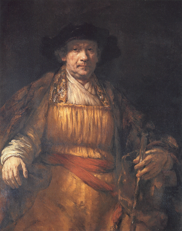 Rembrandt, Self Portrait, c. 1658, oil on canvas, Frick Collection, New York