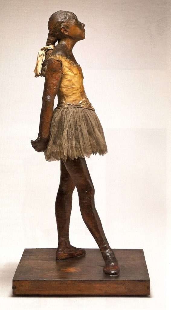 Arts Everyday Living: Degas and the Teenage Ballerina---The Little Dancer
