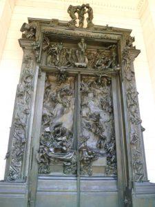 Auguste Rodin, The Gates of Hell, modeled 1880-1917, cast 1926-1928, bronze, Rodin Museum, Philadelphia, PA