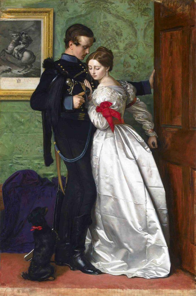 John Everett Millais, The Black Brunswicker
