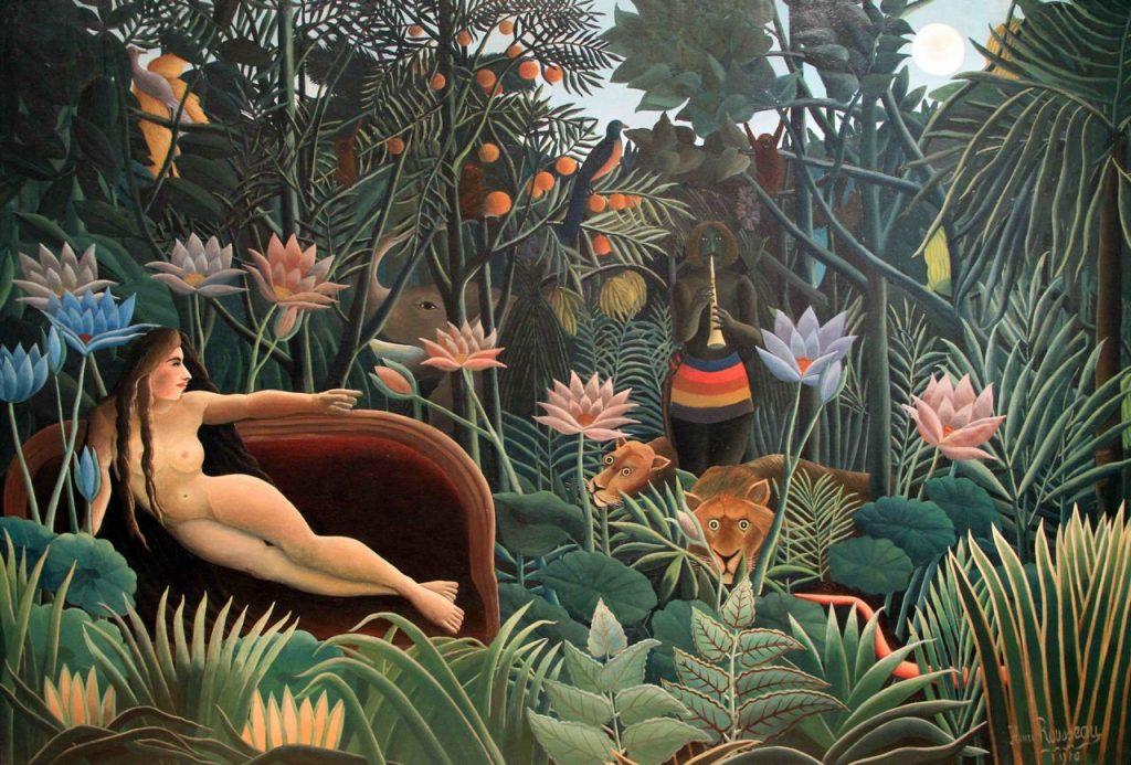 Henri Rousseau, The Jungle, 1910, oil on canvas, Museum of Modern Art, New York