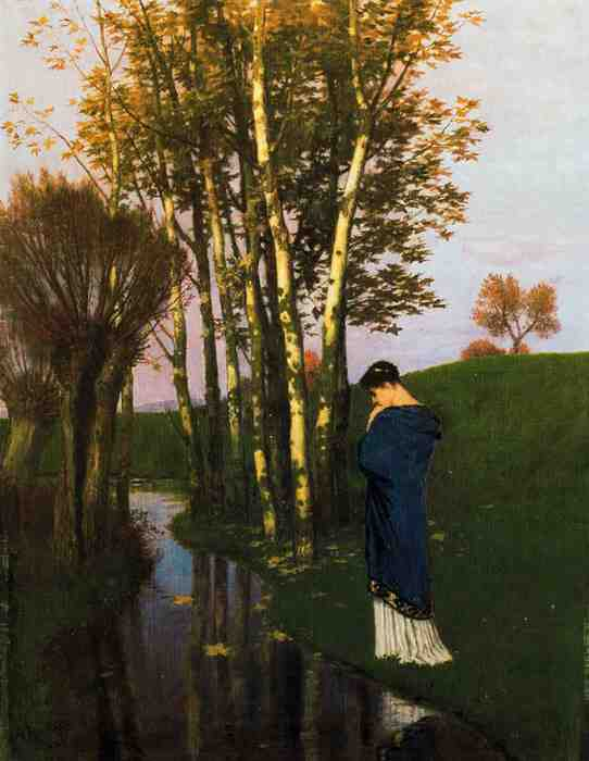 Arnold Bocklin, Autumn Thoughts, n.d., late 19th century, location not available