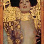 Gustav Klimt Judith I, 1901 ??l auf Leinwand 84 x 42 cm