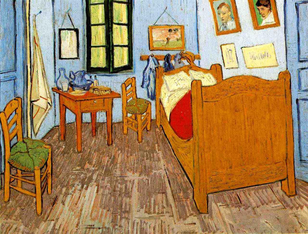 Van Gogh: Bedroom in Arles