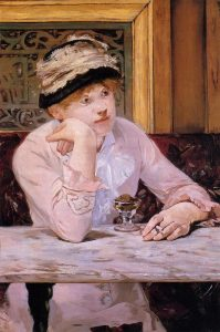 Edouard Manet, The Plum.