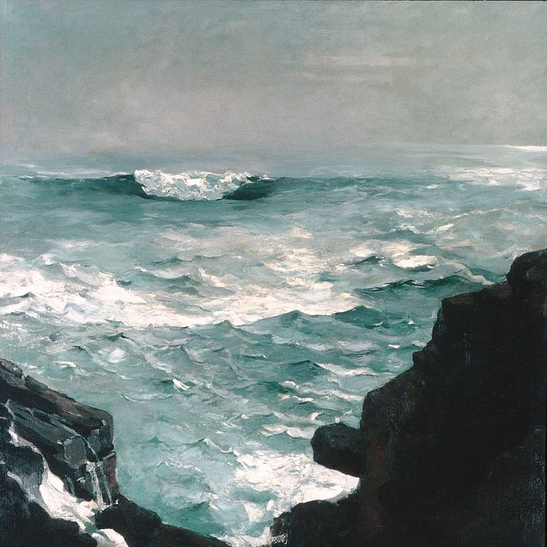 Winslow Homer, Cannon Rock, 1895, oil on canvas, Metropolitan Museum of Art, New York