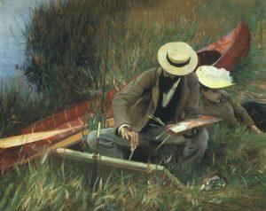 John Singer Sargent, 1889, Brooklyn Museum of Art, New York