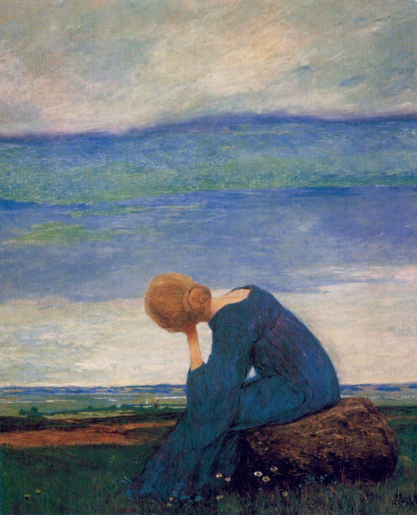Heinrich Vogelei Sehnsucht Trauere