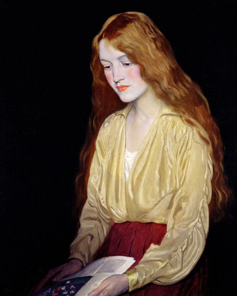 William Strang, Cynthia, 1917, oil on canvas, Wakefield Museums and Galleries, West Yorkshire, UK