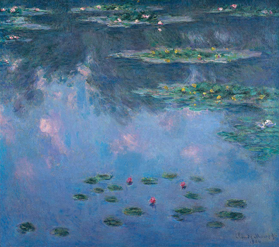 Arts Everyday Living: Monet's Water Lilies---Flowering Islands of Summer