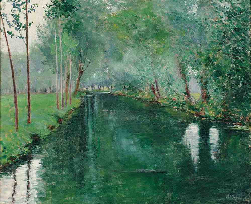 Arts Everyday Living: Dream River--The Epte River at Monet's Giverny