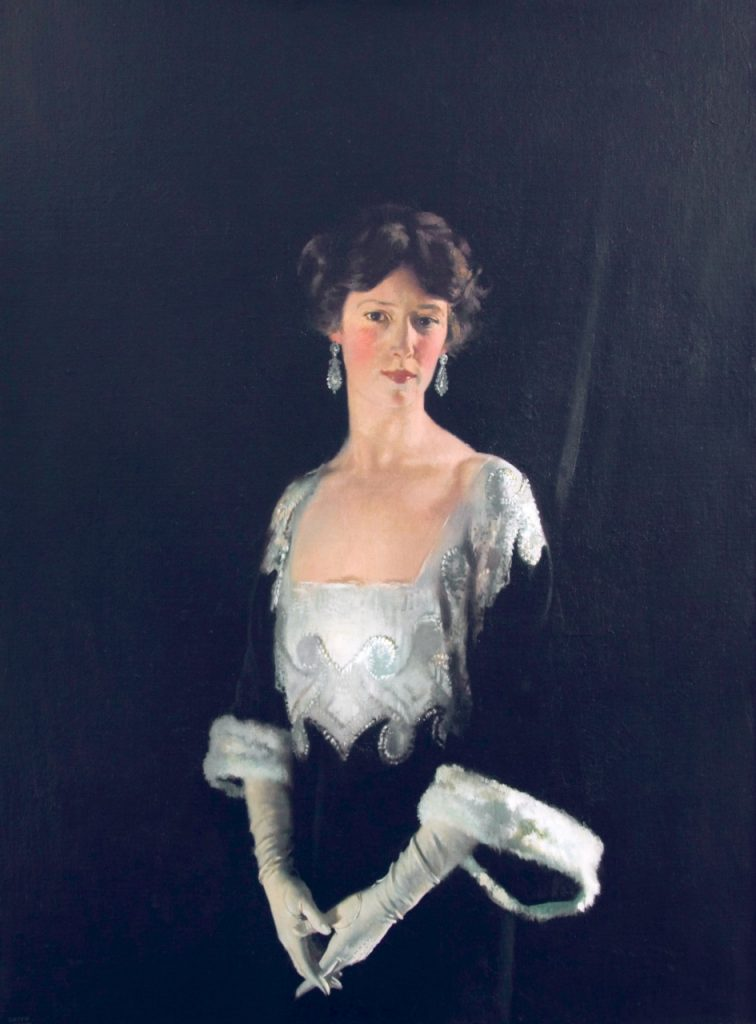 William Orpen, Rose, Fourth Marchioness of Headfort, 1915, oil on canvas, Location Unknown