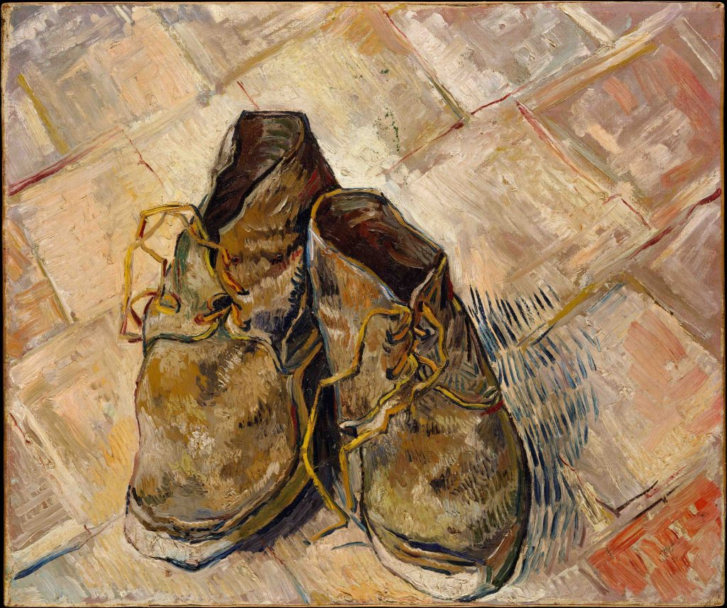 Arts Everyday Living: The World of Van Gogh--These Shoes Are Made for Walking?
