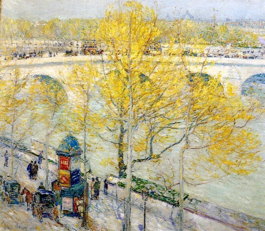 Arts Everyday Living: Springtime in Paris---Awakenings on the Seine
