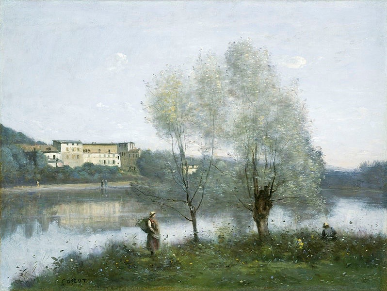 Arts Everyday Living: Beginnings of Impressionism--Spring in the French Countryside