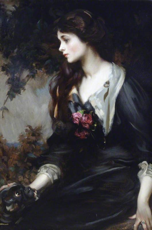 James Jebusa Shannon, Lady Majorie Manners, 1900, oil on canvas, National Trust, Plas Newydd, Anglesey, Wales