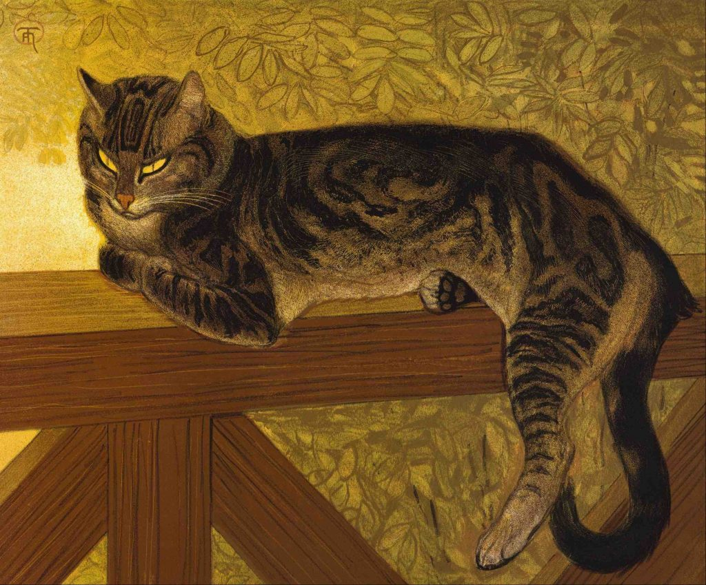 Arts Everyday Living:Through the Eyes of A Lautrec Rival--A Cat of Montmartre, Paris