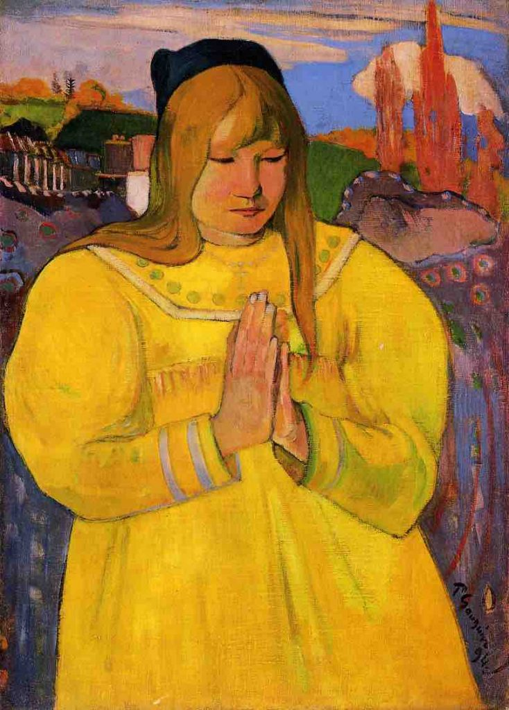 Arts Everyday Living: Paul Gauguin in Brittany: Portrait of a Girl, the Art of Humility