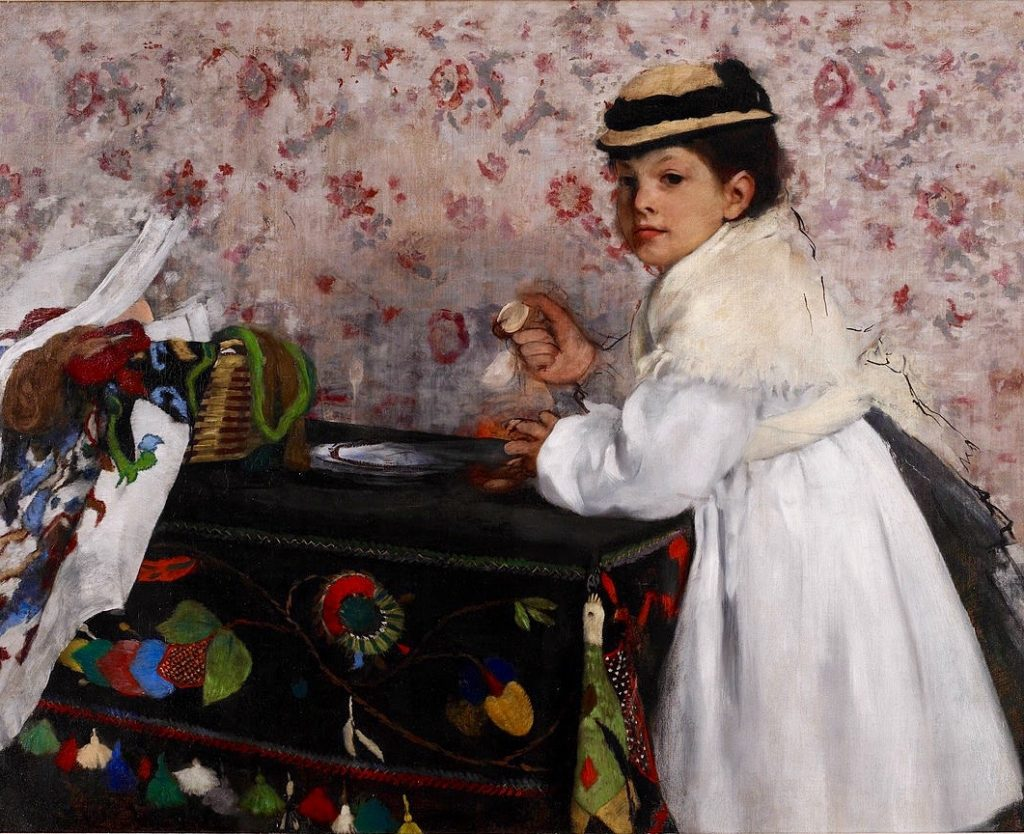 Arts Everyday Living: An Invitation from Degas---Meet Young Mademoiselle Hortense