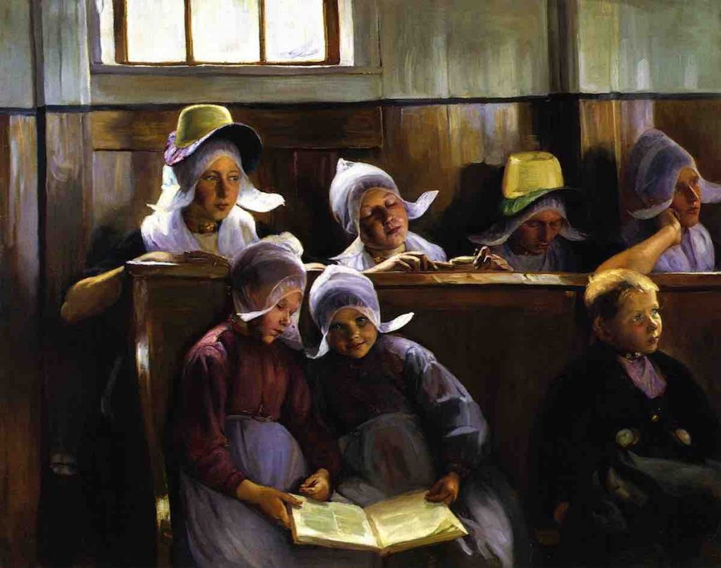 Arts Everyday Living: Through the Eyes of a Colleague of Cassatt--Children in Church