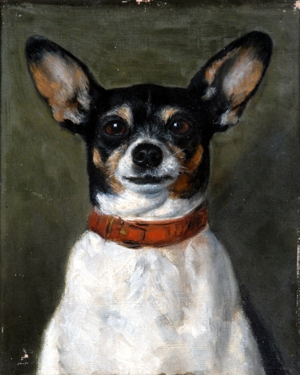 Arts Everyday Living: Who Painted This Canine Companion?--The Mysterious Artist