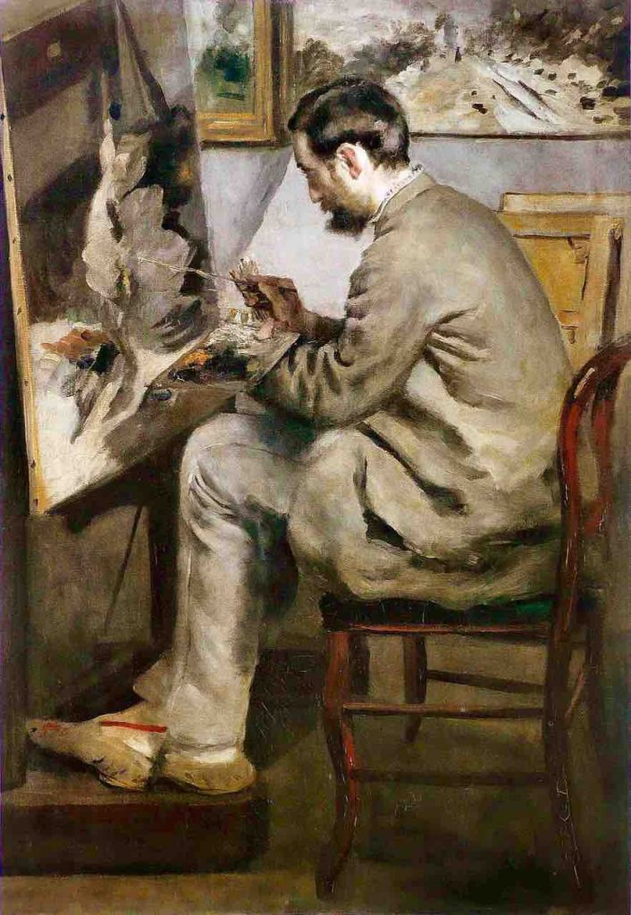 Arts Everyday Living: Impressionist Comrades in Art---Renoir's Tribute to Bazille