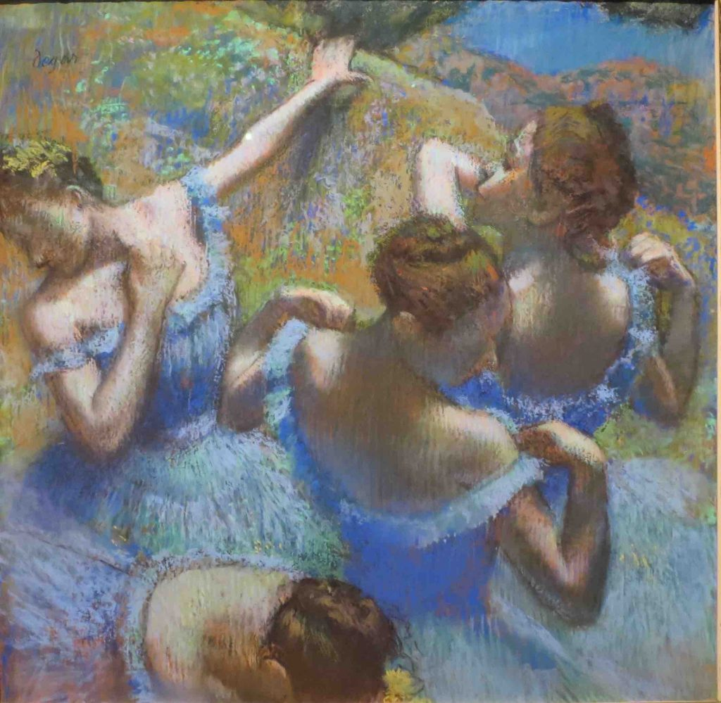 Arts Everyday Living: Degas and the Ballet--A Fantasy and an Obsession?