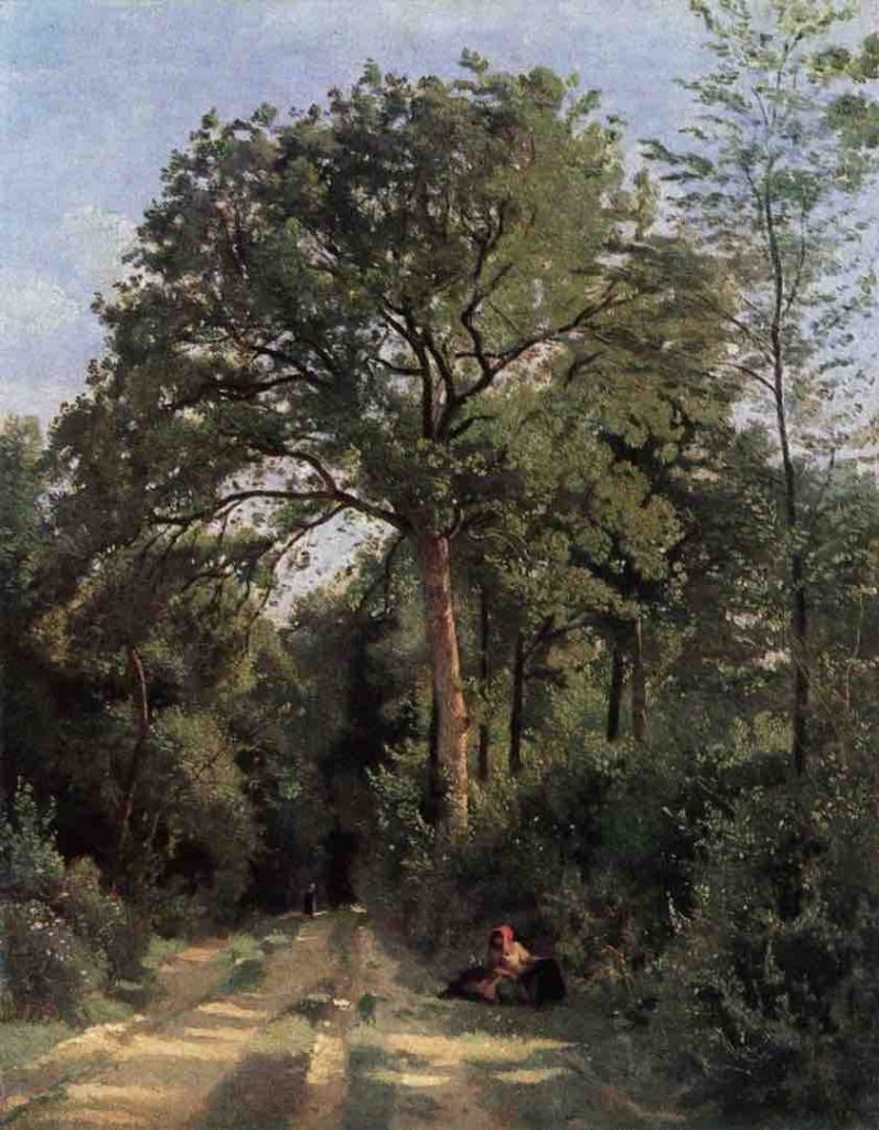 Arts Everyday Living: Corot, Predecessor to the Impressionists--A Beautiful Tree