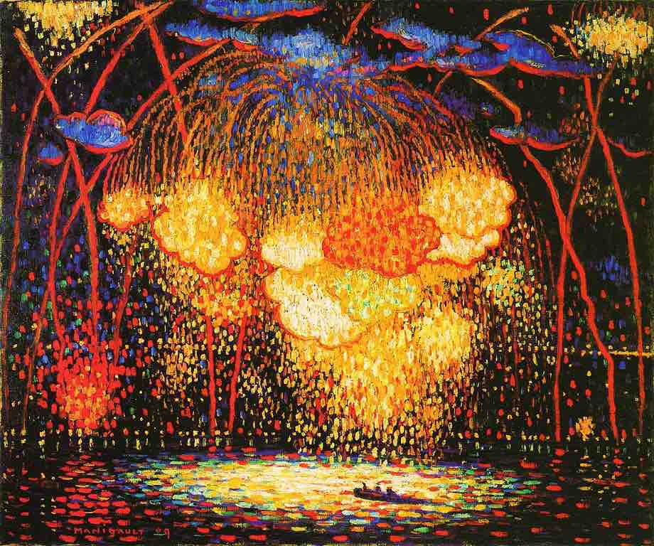 Arts Everyday Living: Happy Fourth of July! The Art of Fireworks!
