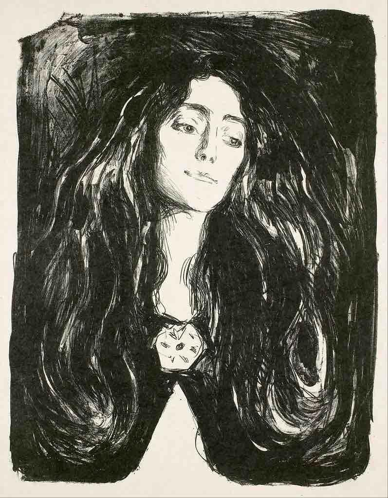 Edvard Munch The Brooch